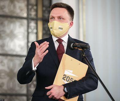 """Hołownia jako lider w ławach poselskich? """"Musi wejść z silnym mandatem do Sejmu"""""""