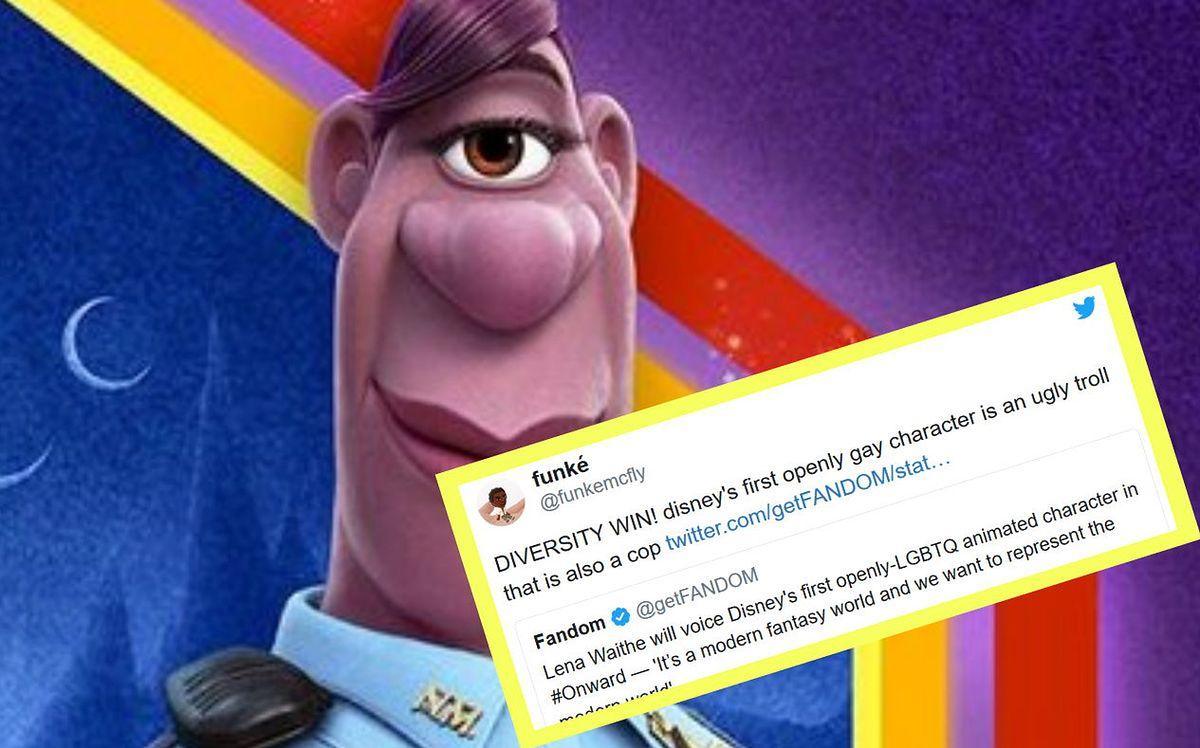 Pierwsza postać LGBT w filmie Disneya. Fani wściekli