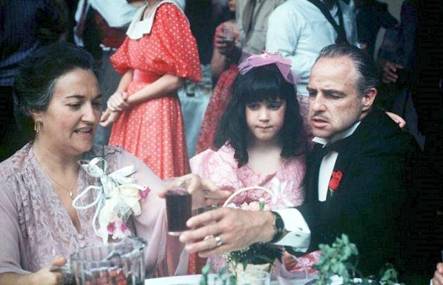 """Morgana King była w """"Ojcu chrzestnym"""" żoną Marlona Brando"""