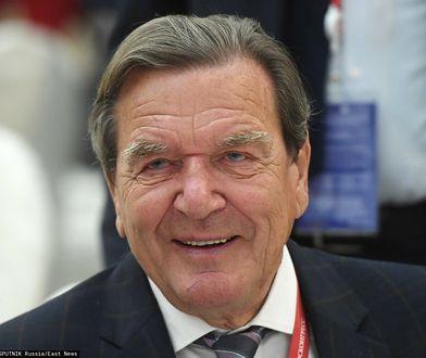 Gerhard Schroeder był kanclerzem RFN w latach 1998-2005. Po ustąpieniu z urzędu zaangażował się w budowę gazociągu Nord Stream