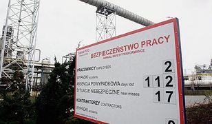 Podczas rozbudowy Lotos stale monitoruje wypadki. O tym nie został powiadomiony