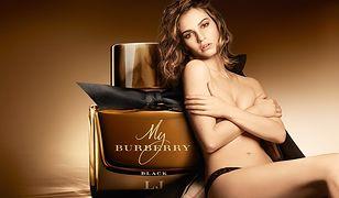 Lily James w kampanii zapachu My Burberry Black