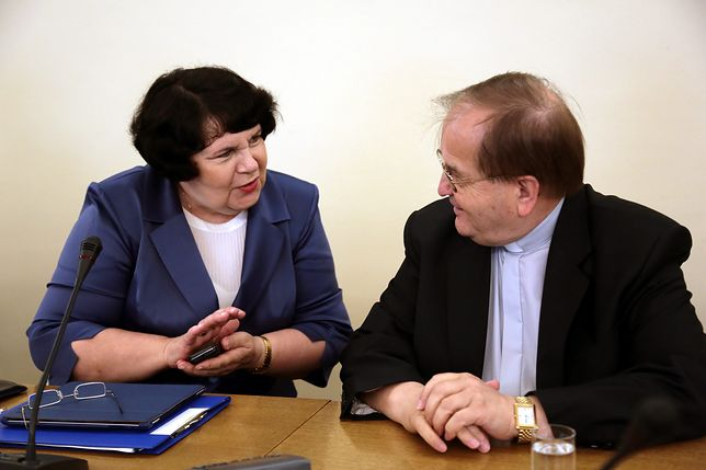 Posłanka PiS Anna Sobecka oraz o. Tadeusz Rydzyk współpracują do wielu lat