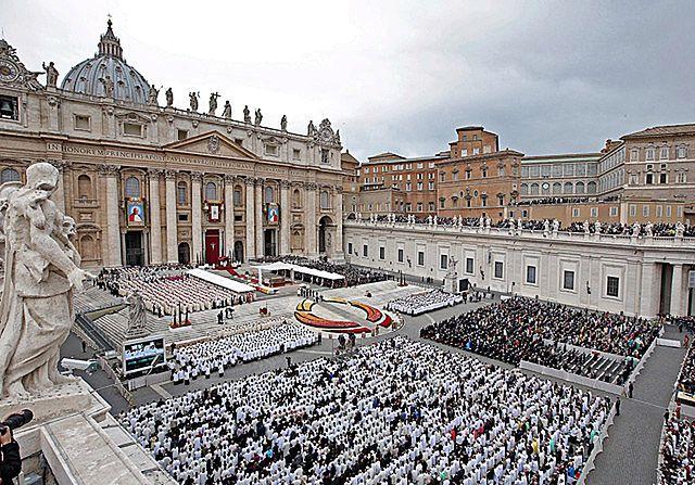 Obrazki z placu św. Piotra