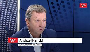 Andrzej Halicki o Jarosławie Kaczyńskim: ponosi odpowiedzialność największą - polityczną