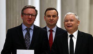 Prezydent Andrzej Duda i prezes PiS Jarosław Kaczyński (zdj. ilustr.)