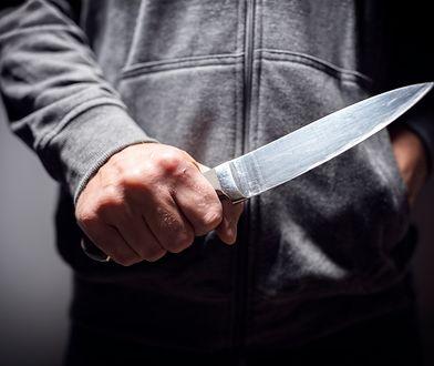 Nożownik został zatrzymany w przejściu podziemnym