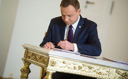 Prezydent Duda podpisał ustawę; będą zmiany w kompetencjach resortów dot. m.in. rewitalizacji