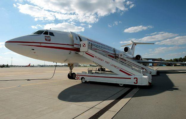 Białoszewski: samolot Tu-154M/102 stoi zbyt długo i nie jest on w tzw. eksploatacji operacyjnej