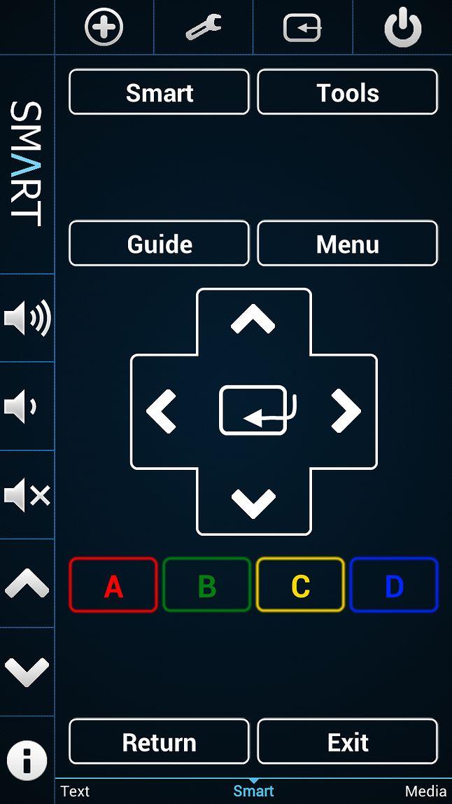 Sterowanie SmartTV z poziomu smartfonu
