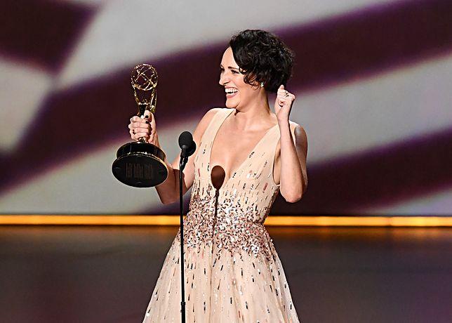 """Phoebe Waller-Bridge z nagrodą Emmy dla najlepszej aktorki komediowej. Jej serial """"Fleabag"""" był nagradzany cztery razy"""