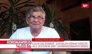 """Koronawirus w Polsce. """"Pacjent zero"""": bałem się, że wszyscy umrzemy"""