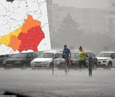 Pogoda. Poważne ostrzeżenia IMGW. Część Polski w kolorze czerwonym
