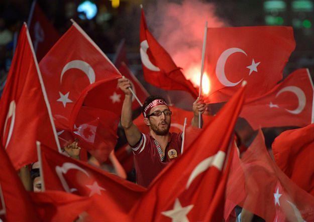 Wiec poparcia dla Erdogana
