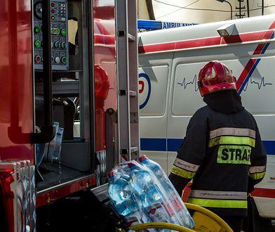 Mazowieckie. Bilans świąt. 120 interwencji medycznych strażaków