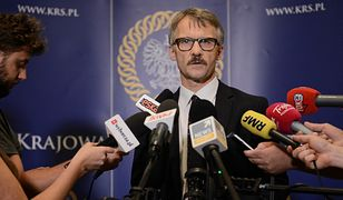 """Leszek Mazur przyszedł na galę """"Gazety Polskiej"""". Nie wszystkim się to spodobało"""