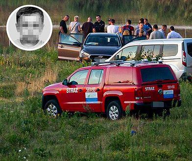 Ciało Dawida Ż. znaleziono przy zbiorniku retencyjnym nieopodal Grodziska Mazowieckiego