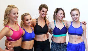 Pięć ambasadorek Team Triaction promuje nową linię sportowych biustonoszy