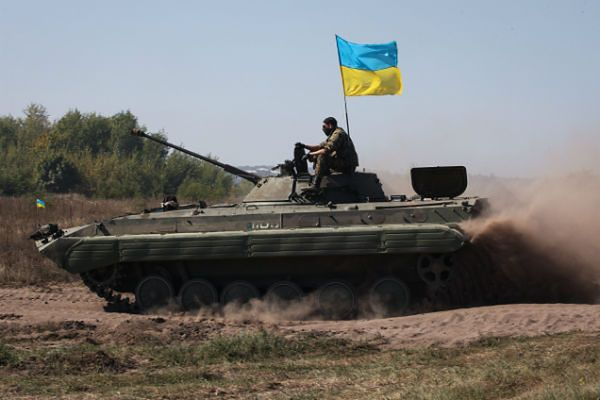 Ukraińskie siły rządowe wycofają się dopiero po przerwaniu ognia