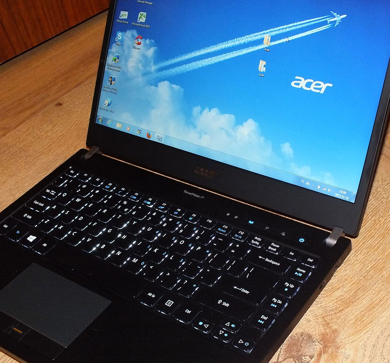 Acer TravelMate P645-S w dziale controllingu — wymagania biznesowe: cz. II - Acer TravelMate P645-S