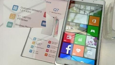 Windows Phone nie wykorzysta potencjału 7-calowego smartfona