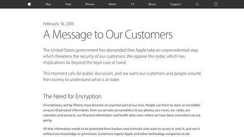 Apple płacze nad prywatnością, tylko czy aby nie ma tu drugiego dna?