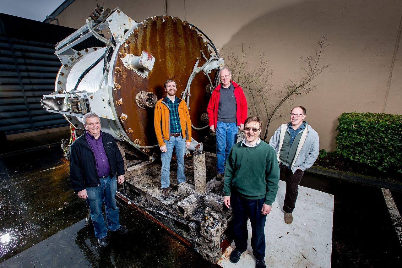 Microsoft Submarine – project Natick - Natick Team: Eric Peterson, Spencer Fowers, Norm Whitaker, Ben Cutler, Jeff Kramer.
