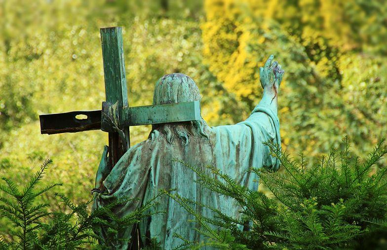 Skandal w Lubomi. Zrobił coś strasznego na cmentarzu
