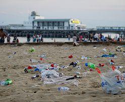 Brytyjczycy wylegli na plaże. To skandal, co po sobie zostawili