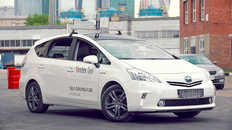 Autonomiczne auto Yandexa przejechało trasę 800 km: Uber i Tesla zostają w tyle?