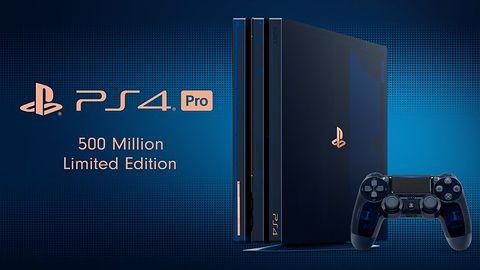 PS4 Pro w limitowanej edycji z okazji 500 mln sprzedanych konsol już w Polsce. Jest drogo