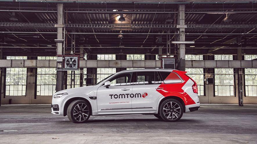 TomTom zaprezentował nowy pojazd autonomiczny, fot. materiały prasowe