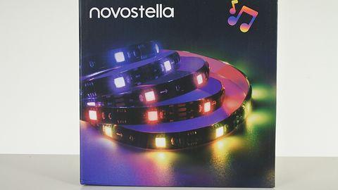 Novostella  — LEDowa taśma czująca bit