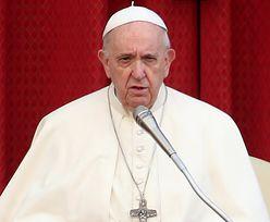 """Papież Franciszek stanowczo ws. kobiet w ciąży. """"To wstyd"""""""