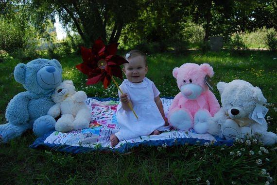 Roczna dziewczynka choruje na nieuleczalną chorobę. Jej rodzice zorganizowali nietypową aukcję