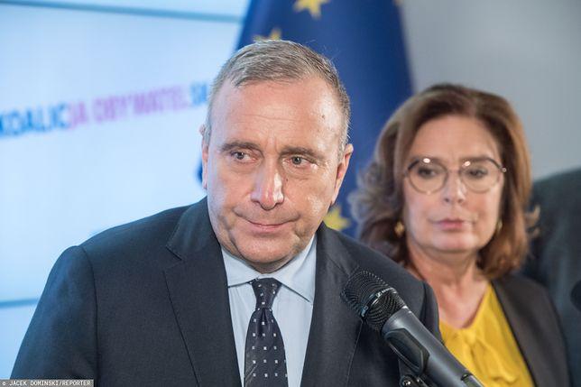 Grzegorz Schetyna i Małgorzata Kidawa-Błońska.