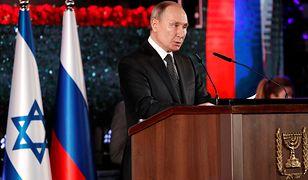 Izrael. Władimir Putin wygłosił trwające kilka minut przemówienie