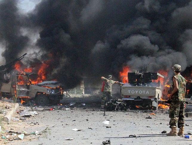 Seria zamachów terrorystycznych w Bagdadzie. Co najmniej 15 zabitych