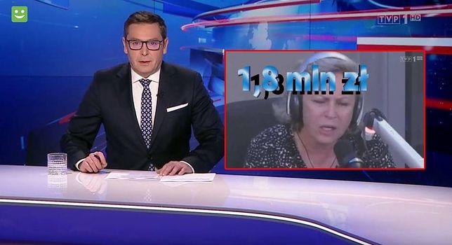 """""""Wiadomości"""" TVP po raz kolejny zaatakowały aktorkę"""