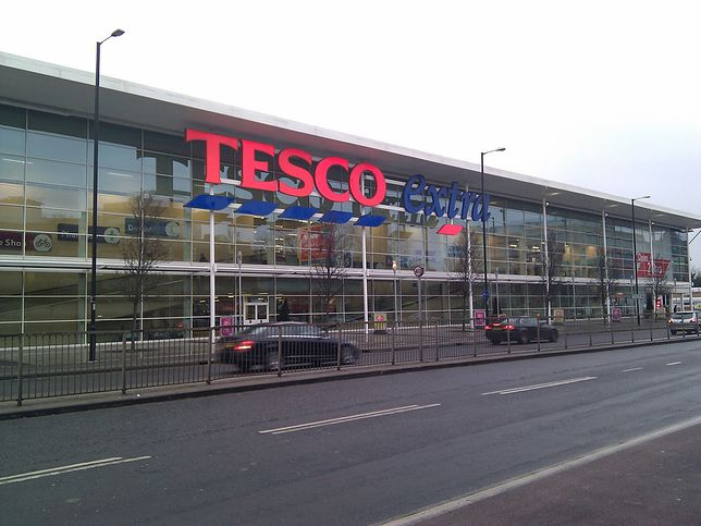 Tesco to jedna z najbardziej rozwiniętych sieci hipermarketów na świecie