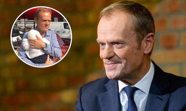 Donald Tusk pokazał zdjęcie z wnuczką