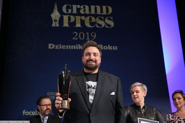 Grand Press 2019. Tomasz Sekielski został Dziennikarzem Roku
