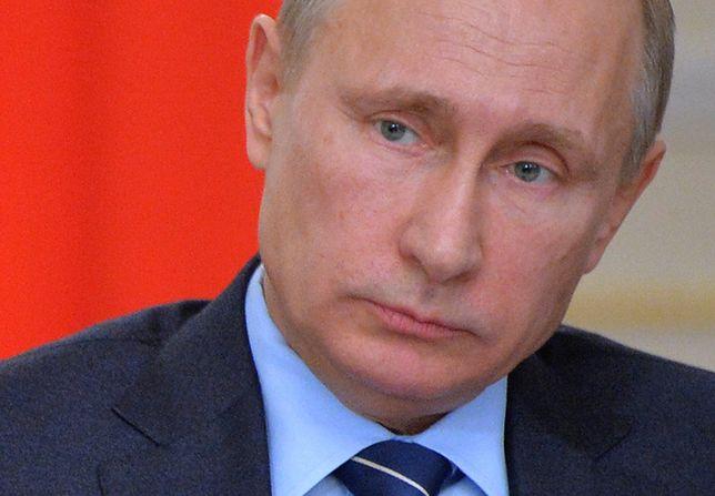 """Władimir Putin: na wschodzie Ukrainy walczy """"natowska legia"""""""