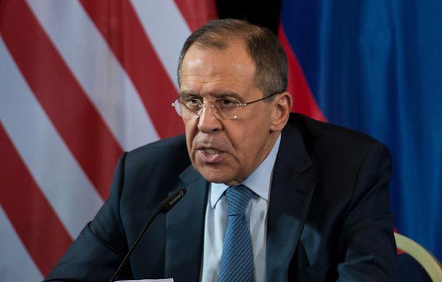 Ławrow: NATO i UE nie chcą współpracować z Rosją