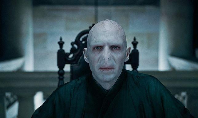 """W oficjalnych ekranizacjach """"Harry'ego Pottera"""" Voldemorta sportretował Ralph Fiennes"""