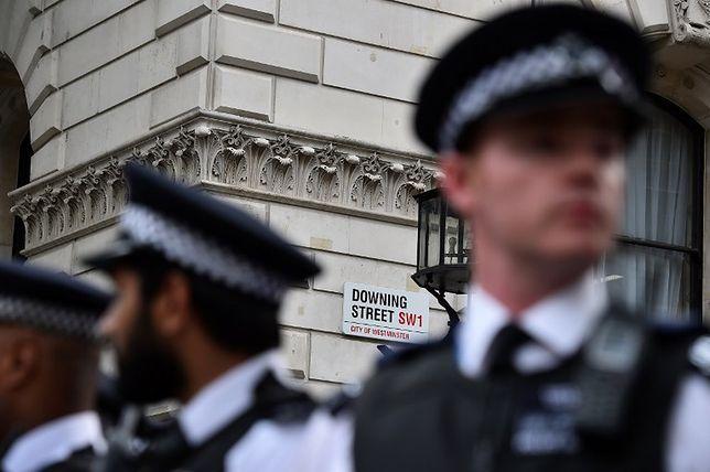 Policjanci w Londynie