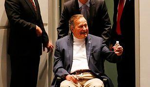 USA: George H.W. Bush trafił do szpitala