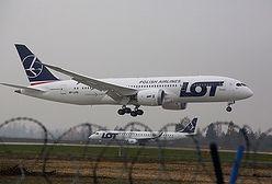 Boeing 787 Dreamliner wylądował na Okęciu