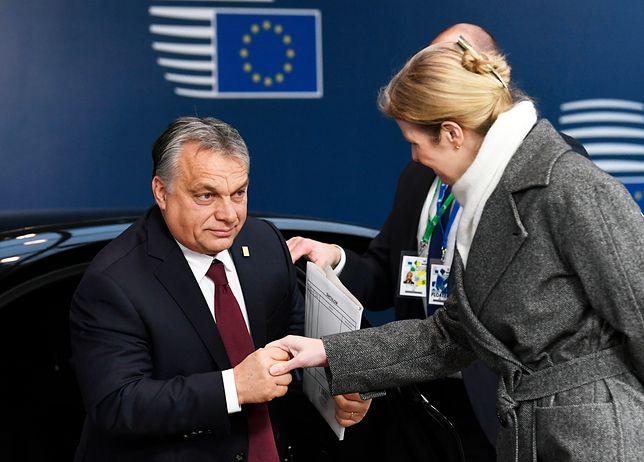 Victor Orban na szczycie państw w Brukseli