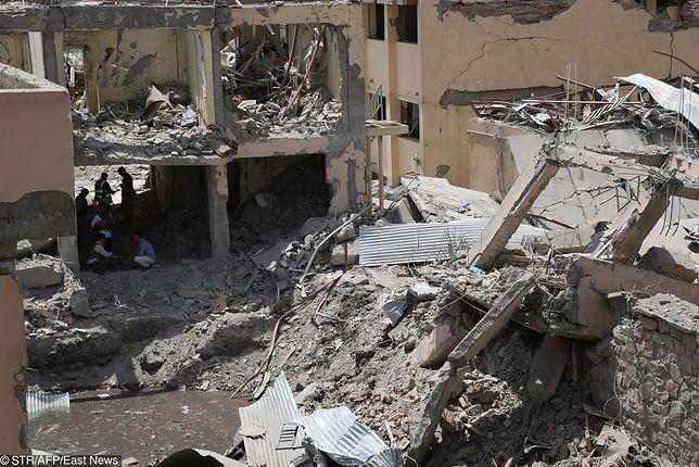 Afganistan. Eksplozja samochodu pułapki przed komisariatem policji w Kabulu